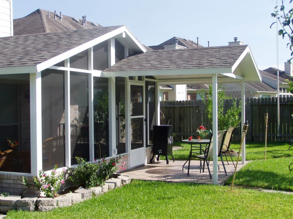 Conroe Aluminum Patio Covers