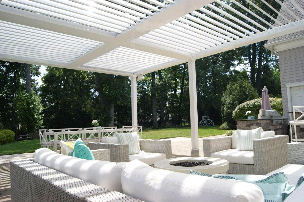 Equinox Louvered Roof Conroe Patio Covers
