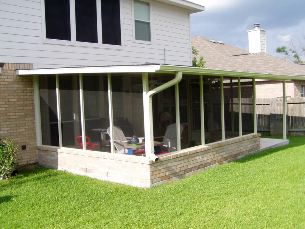 Conroe Screened In Porch​